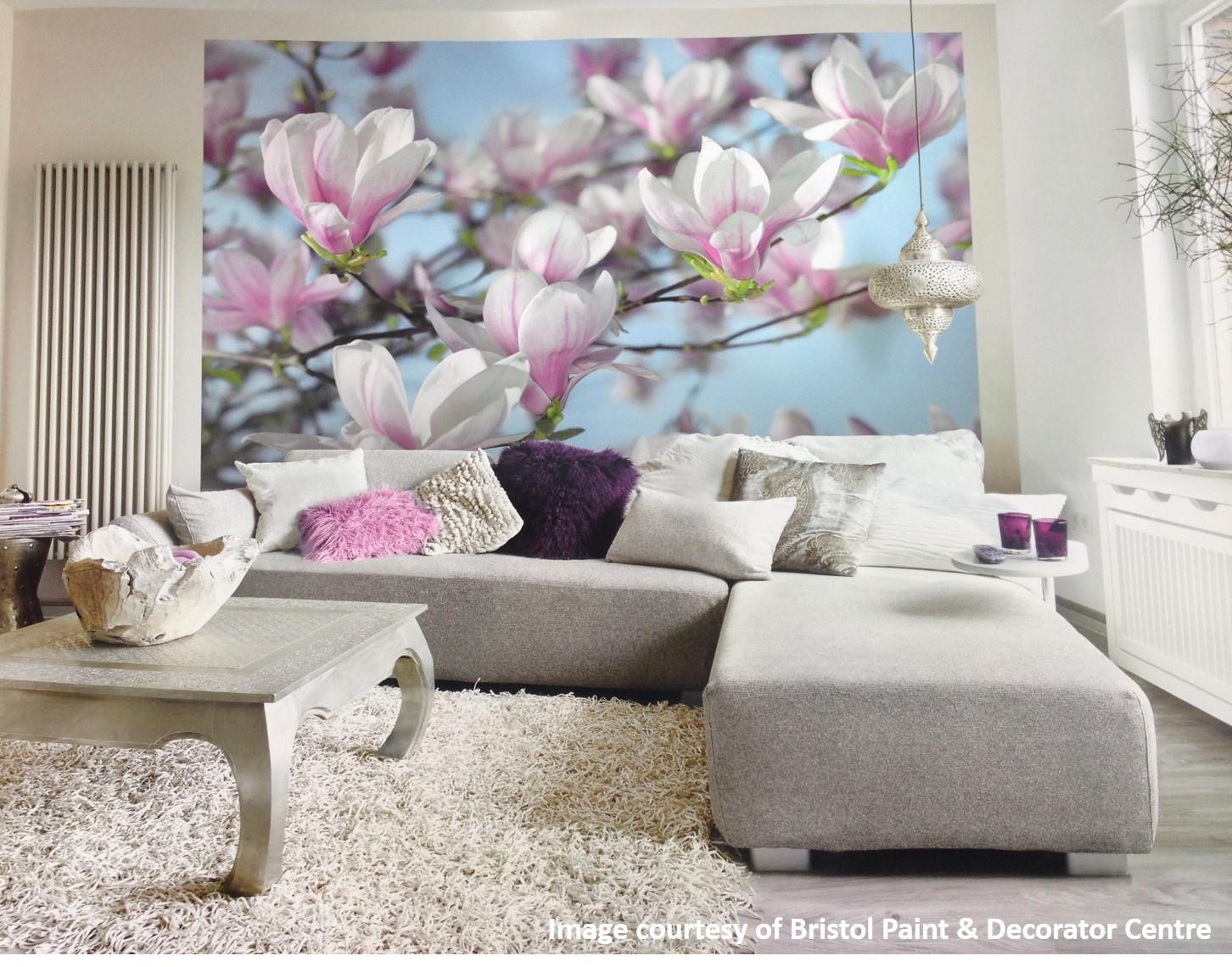 Komar mural magnolia